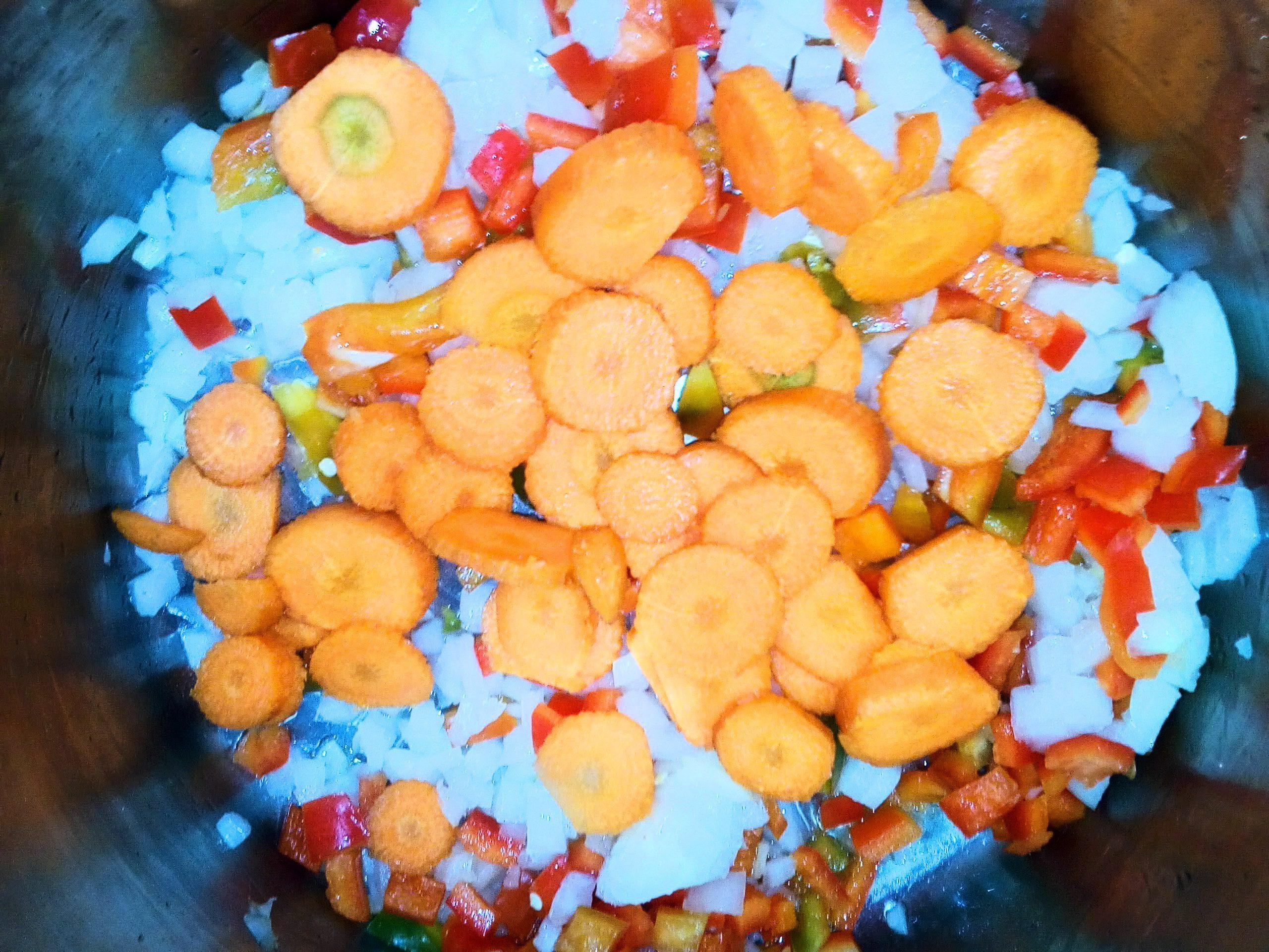 sudado de verduras